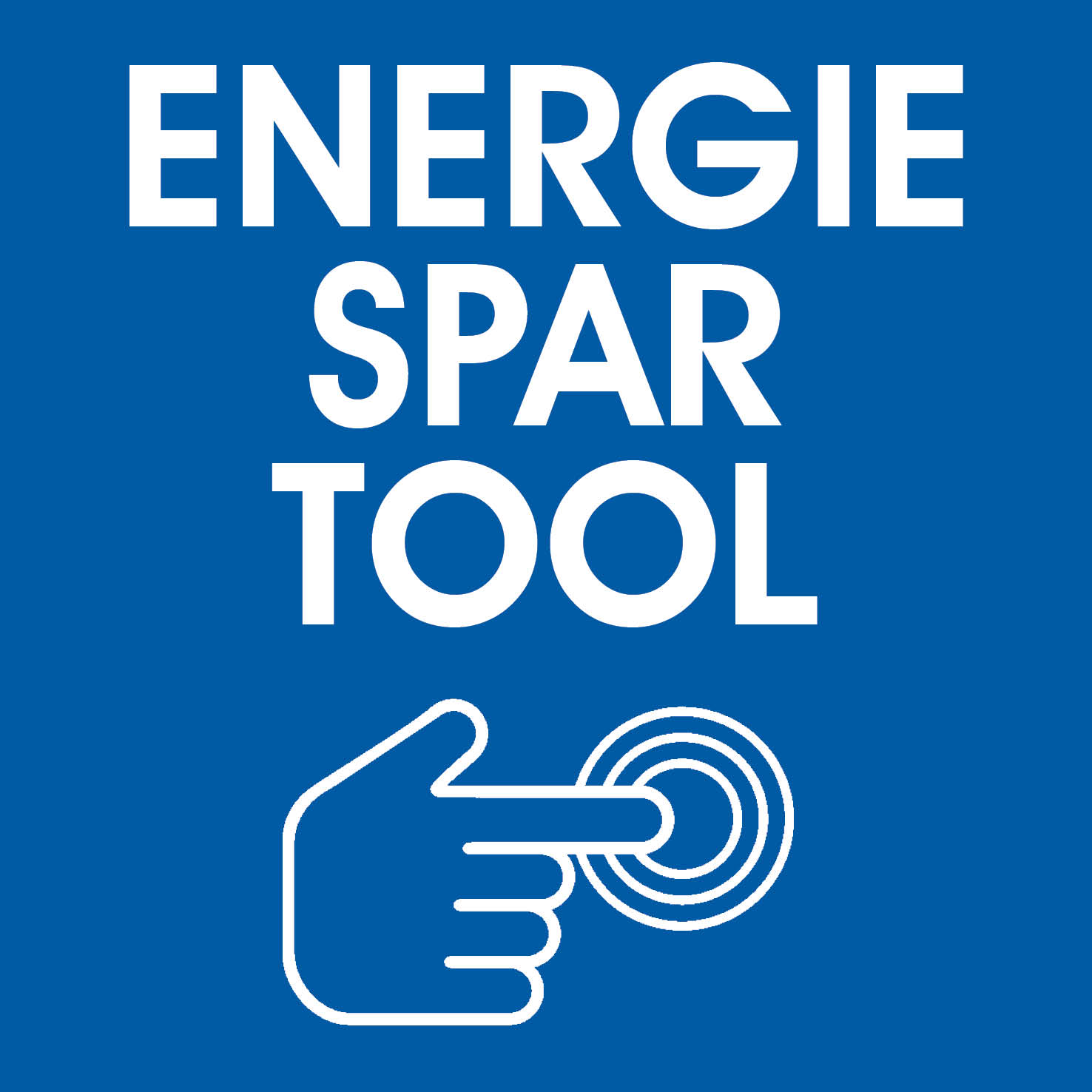 Hier geht's zum Energiespartool